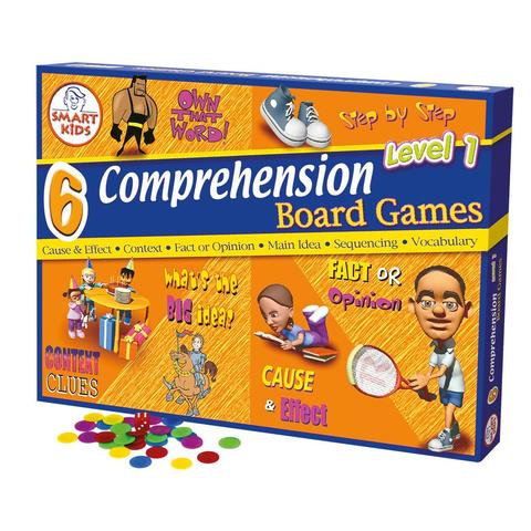 6 Reading & Comprehension Board Games