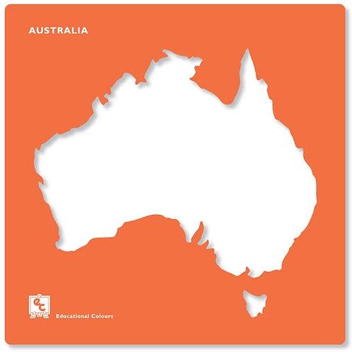 Stencils Australia & State Maps