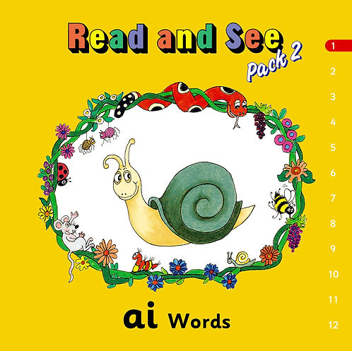 Jolly Phonics Read & See Books Pack 2