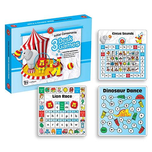 Literacy Desk Games