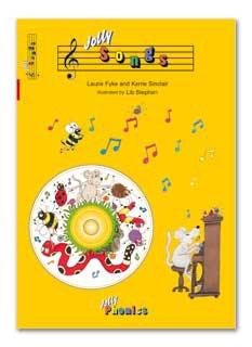 Jolly Songs Book & CD