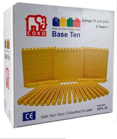 Coko Cube Bricks Base 10 Longs