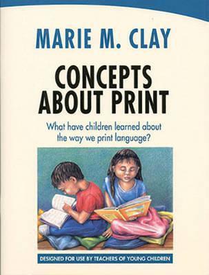 Concepts About Print Teacher Guide