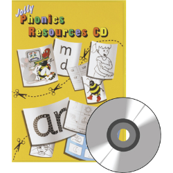 Jolly Phonics CD, DVD, Games CD