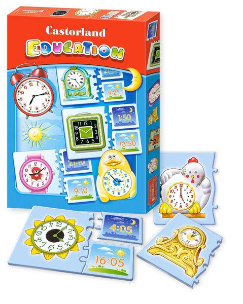 Castorland Education Time Jigsaw Puzzle