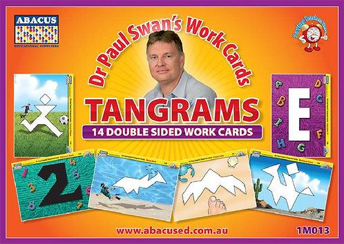 Tangram Puzzle Cards