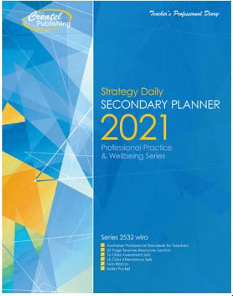 Createl Secondary Daily Strategy Planner 2021