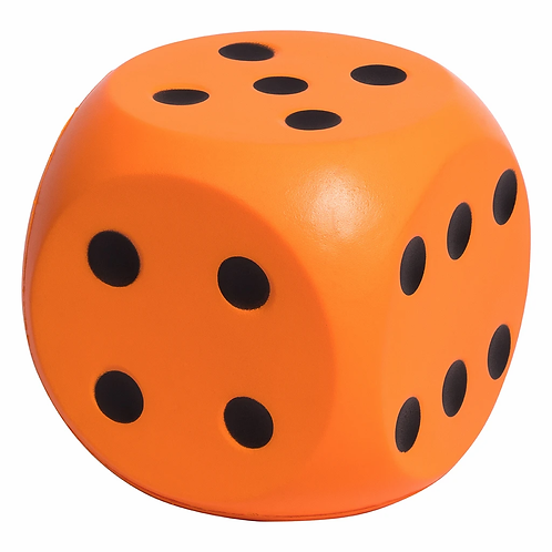 Jumbo Soft Dot Dice