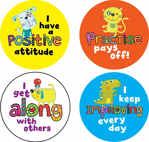 Discovery Award Stickers Positive Pals