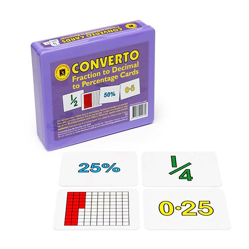 Converto Cards Game