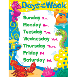 Days of the Week Charts