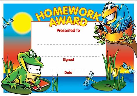 Homework Award (SUN)