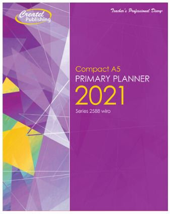Createl Compact A5 Daily Primary Planner 2021