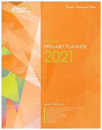 Createl Primary Weekly Planner 2021