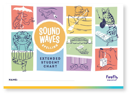 Sound Waves Spelling Extended Student Chart