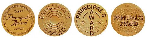 Principal's Gold Award (72 stickers)