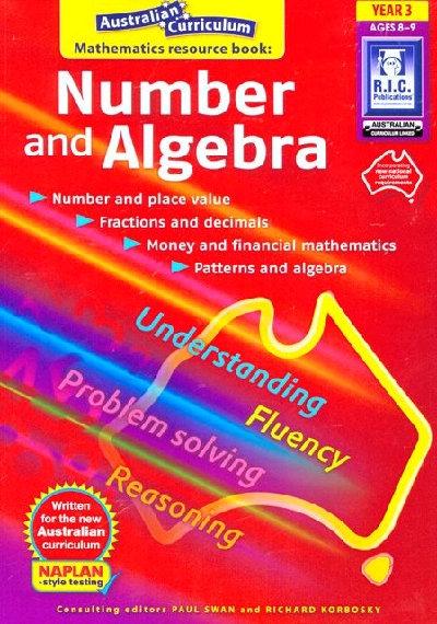 Australian Curriculum Mathematics Number & Algebra