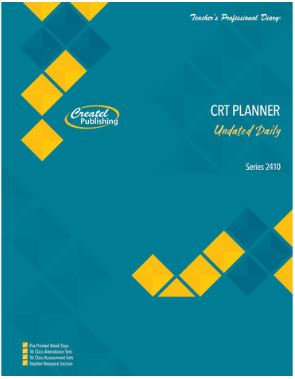 Casual Relief Teacher Daily Planner