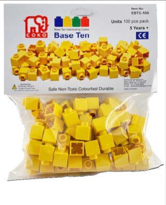 Coko Cube Bricks Base 10 Units