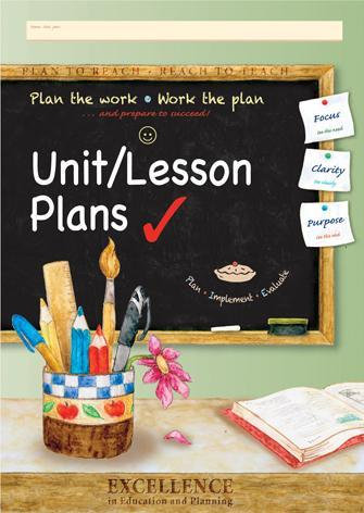 Unit/ Lesson Planning Book