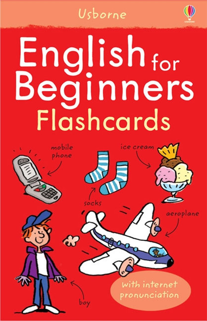 English for Beginners Flash Cards