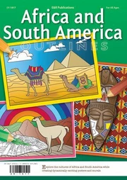 Africa & South America Outlines