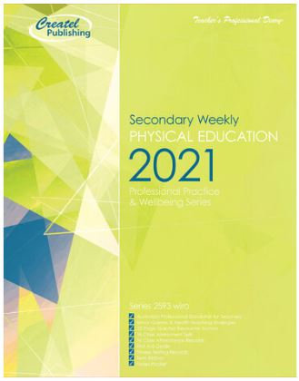 Createl Secondary Phys Ed Weekly Planner 2021