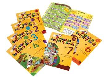Jolly Phonics Activity Books (Set of 7)