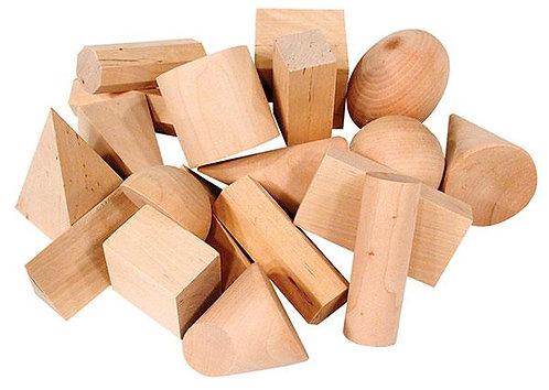 Geometric Solids (Set of 19)