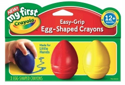 My First Egg-Shaped Crayons