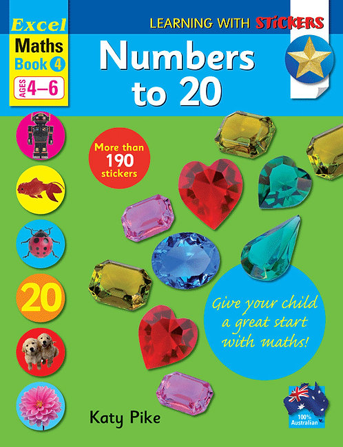 Learning with stickers - Numbers to 20