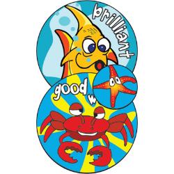 Sunshine Award Stickers - Animals