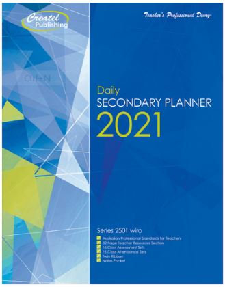 Createl Secondary Daily Planner 2021