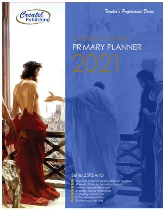 Primary Weekly Catholic Planner 2021