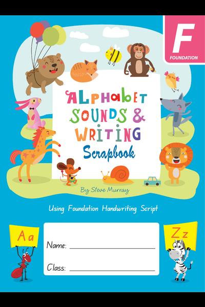 Alphabet Sounds & Writing Scrapbook