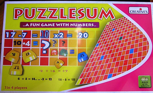 Puzzlesum: A Fun Game With Numbers