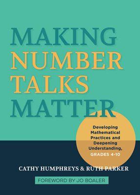 Making Number Talks Matter