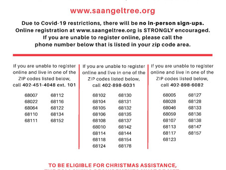Salvation Army Christmas Assistance Sign Up