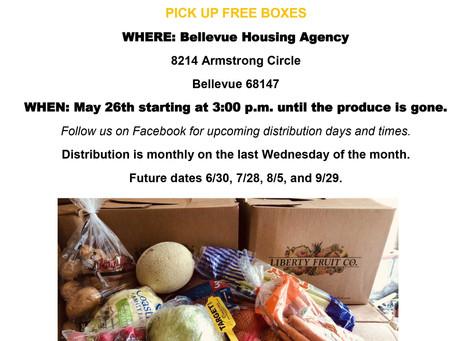 Free Produce May 26th, 2021