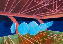 Arabian Nights 2015 oil on canvas 90x120cm available