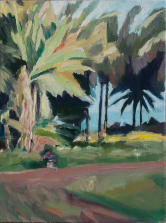 Runaway  2014 oil on canvas 50x30cm sold