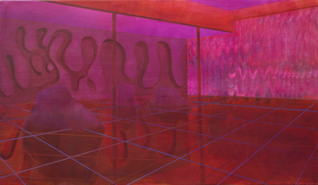 Interior with Relief 2015 oil on canvas  40x60cm available