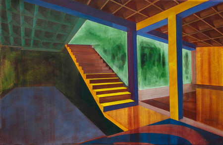Cave of Wonders 2015 oil on canvas 40x60cm sold