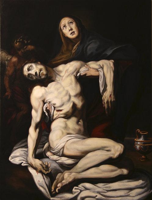 Pieta, after Crespi