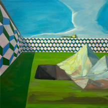 Excavation and Evasion oil on linen 60x60cm sold