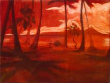 Bikini 2014 oil on canvas 30x40cm sold