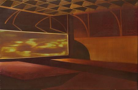 Cinema 2015 oil on canvas 40x60 cm sold