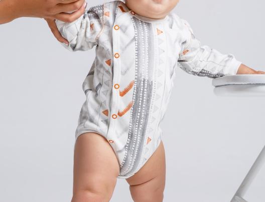 Теплый боди для малыша
