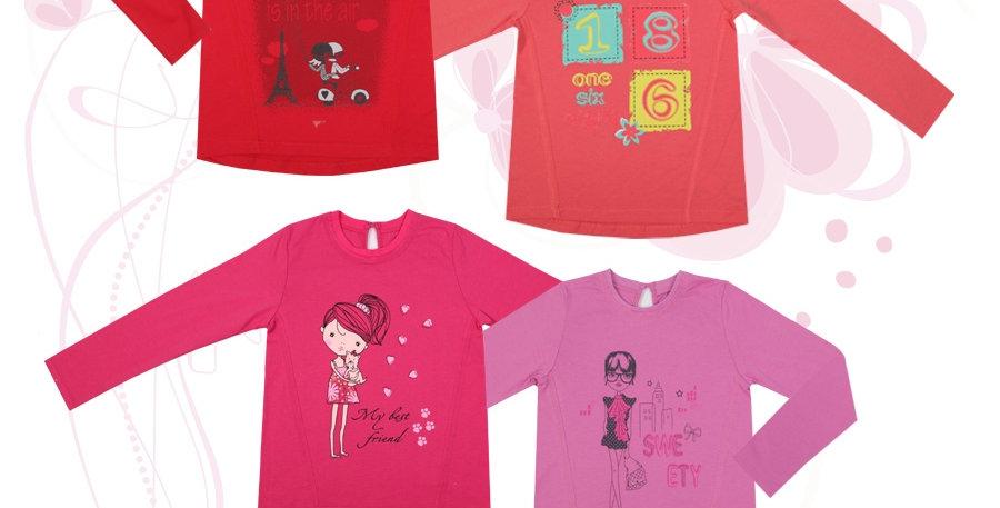 Блуза 847 Фламинго-