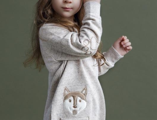 Дизайнерское платье для ребенка